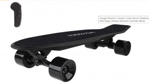 The Voyager Neutrino Electric Skateboard